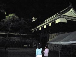 追手門と高知城