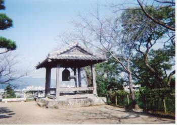 高知城の鐘楼